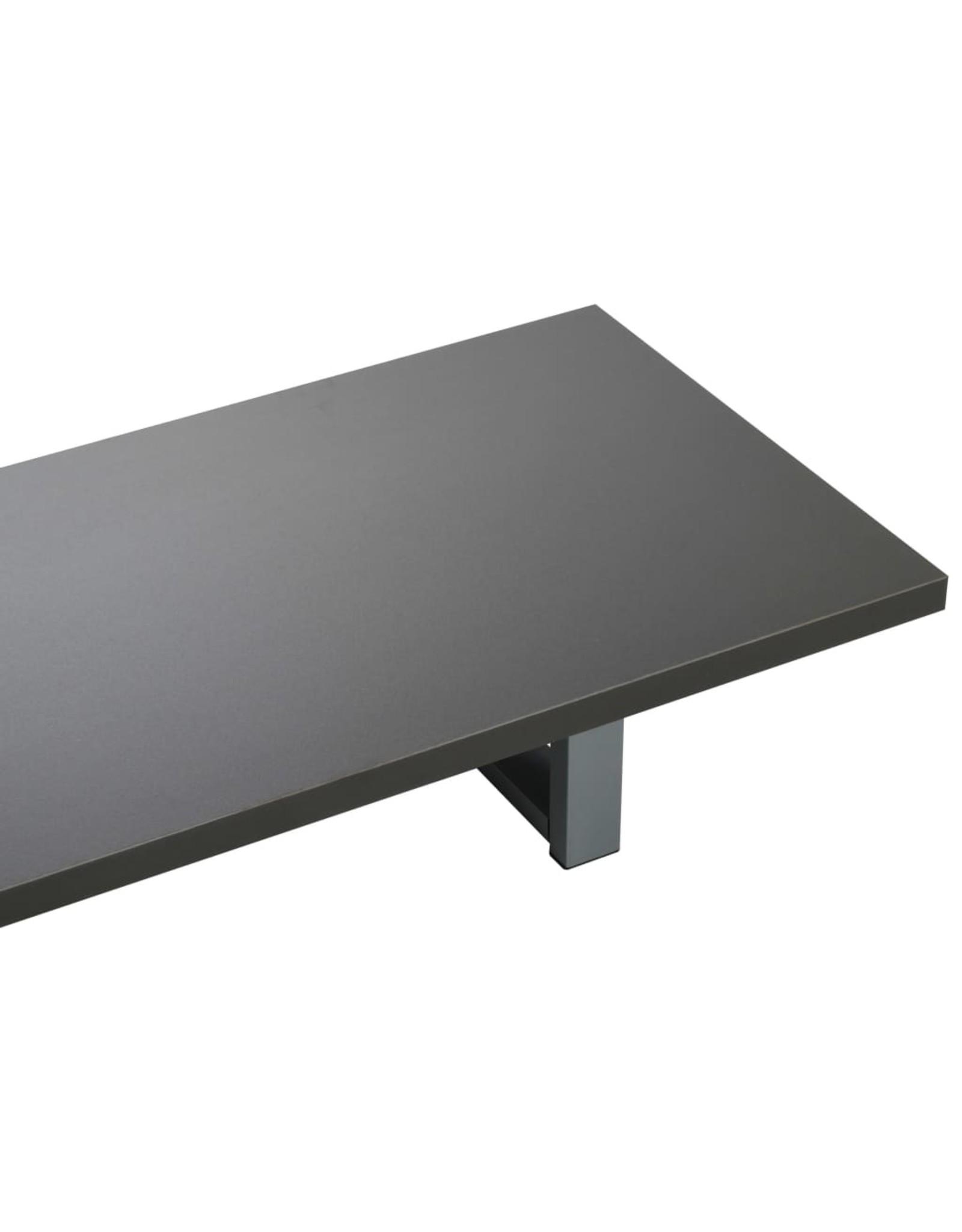 Badkamermeubel 160x40x16,3 cm grijs