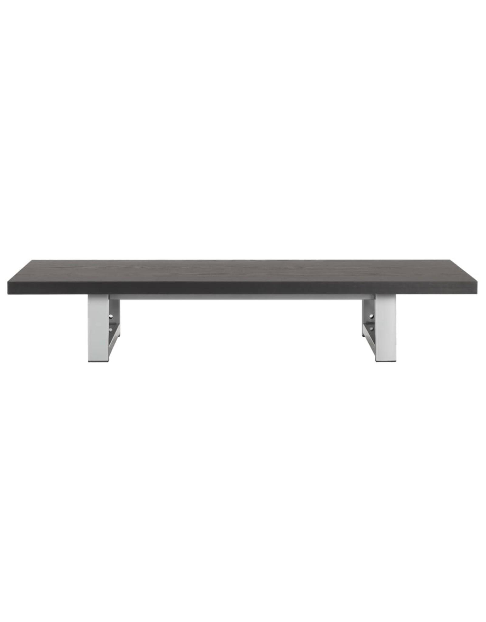 Badkamermeubel 90x40x16,3 cm zwart