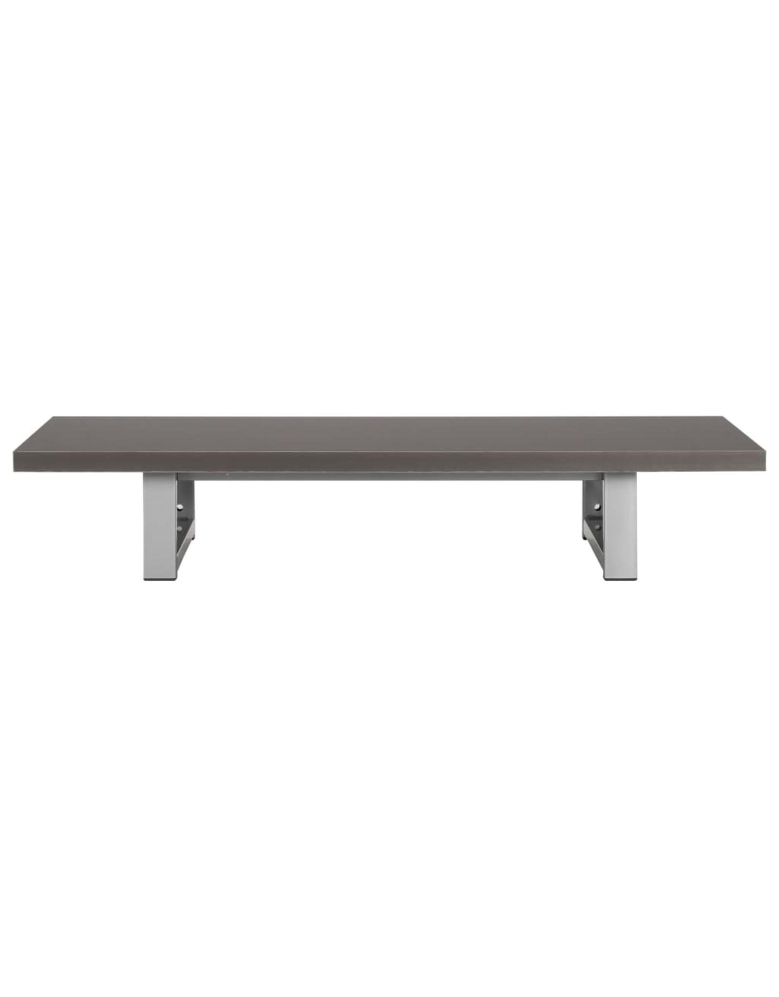 Badkamermeubel 90x40x16,3 cm grijs