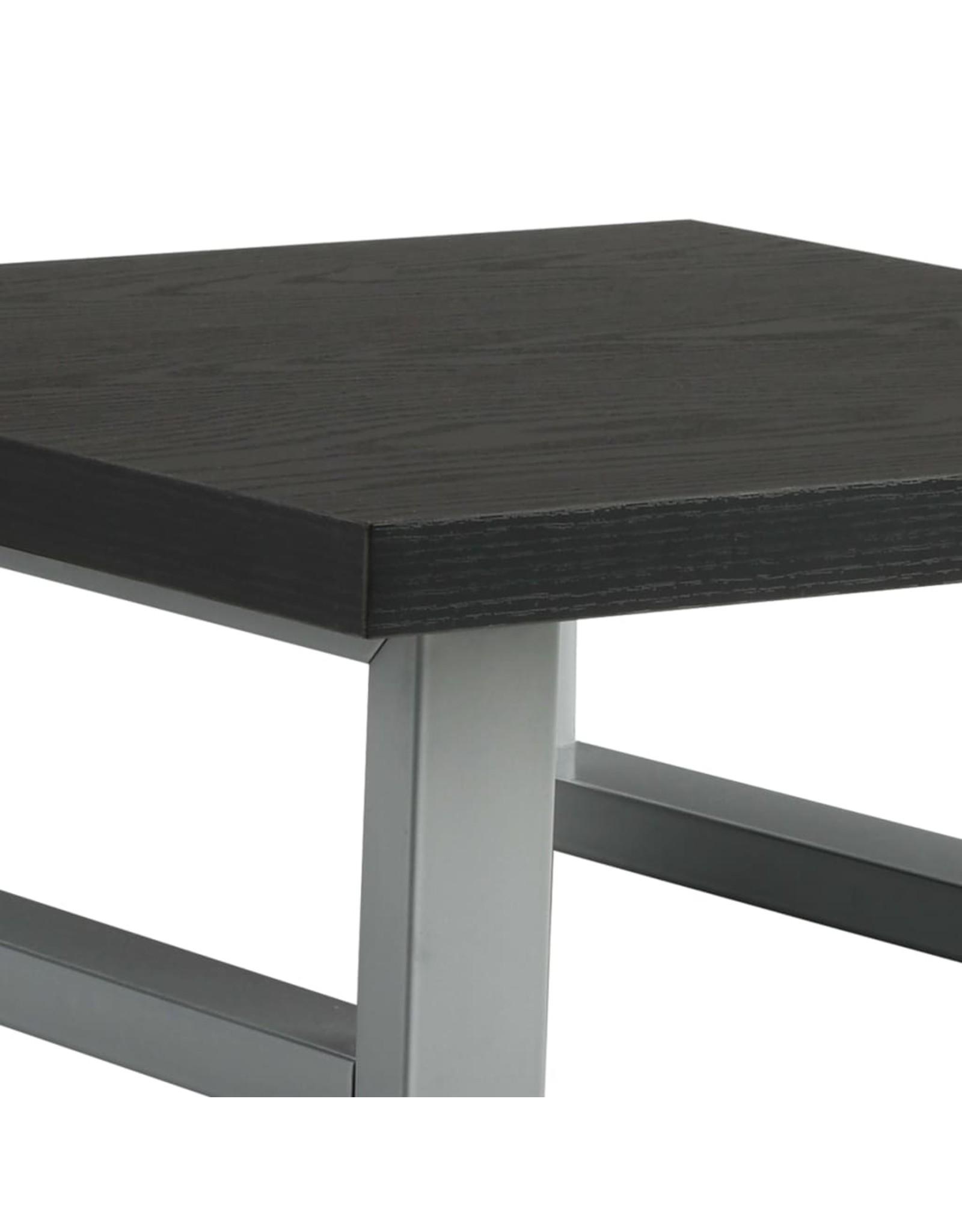 Badkamermeubel 40x40x16,3 cm zwart