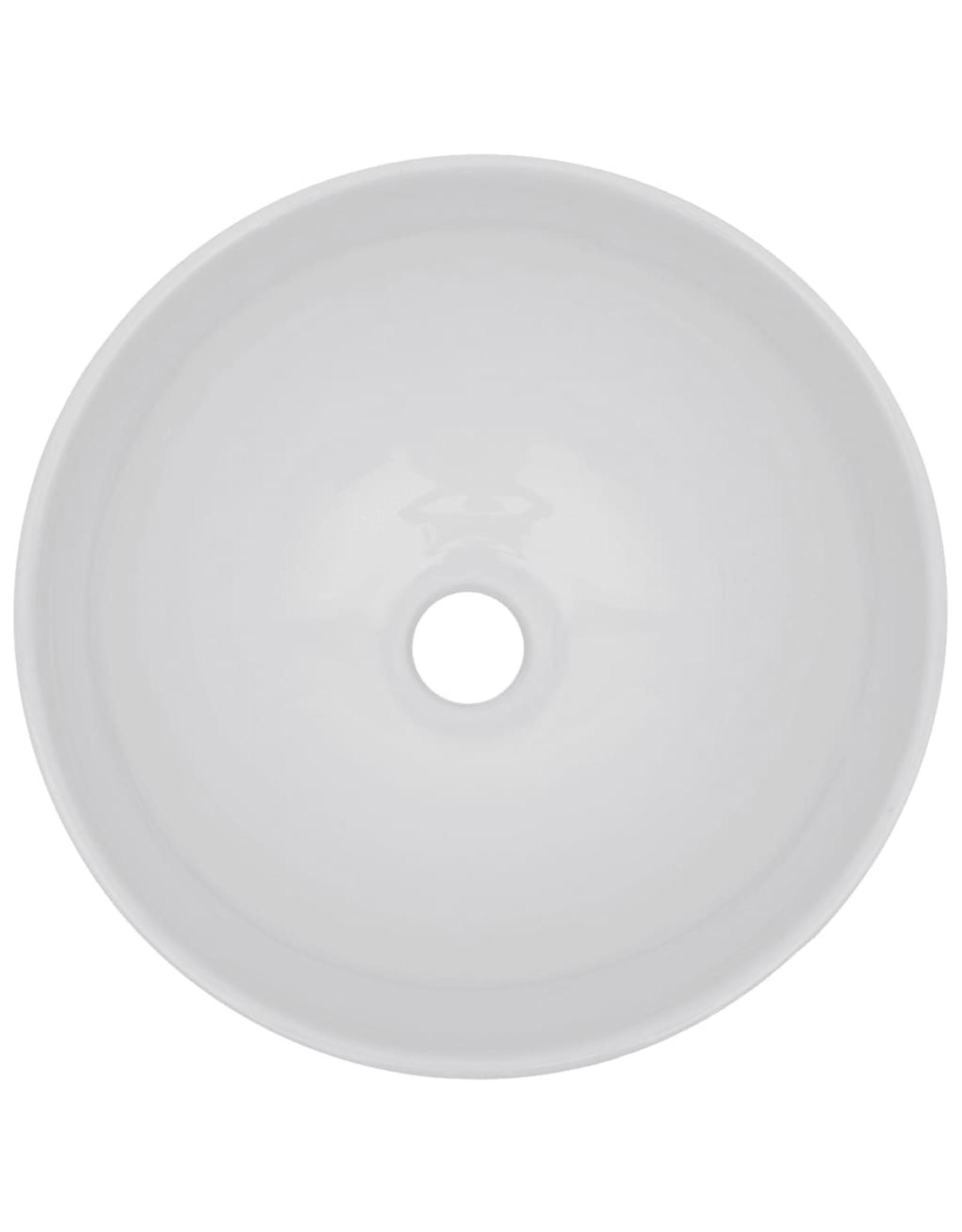 3-delige Badkamermeubelset keramiek grijs