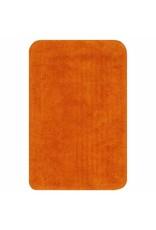 Badmattenset stof oranje 2-delig