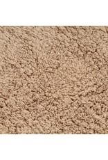 Badmattenset stof beige 2-delig