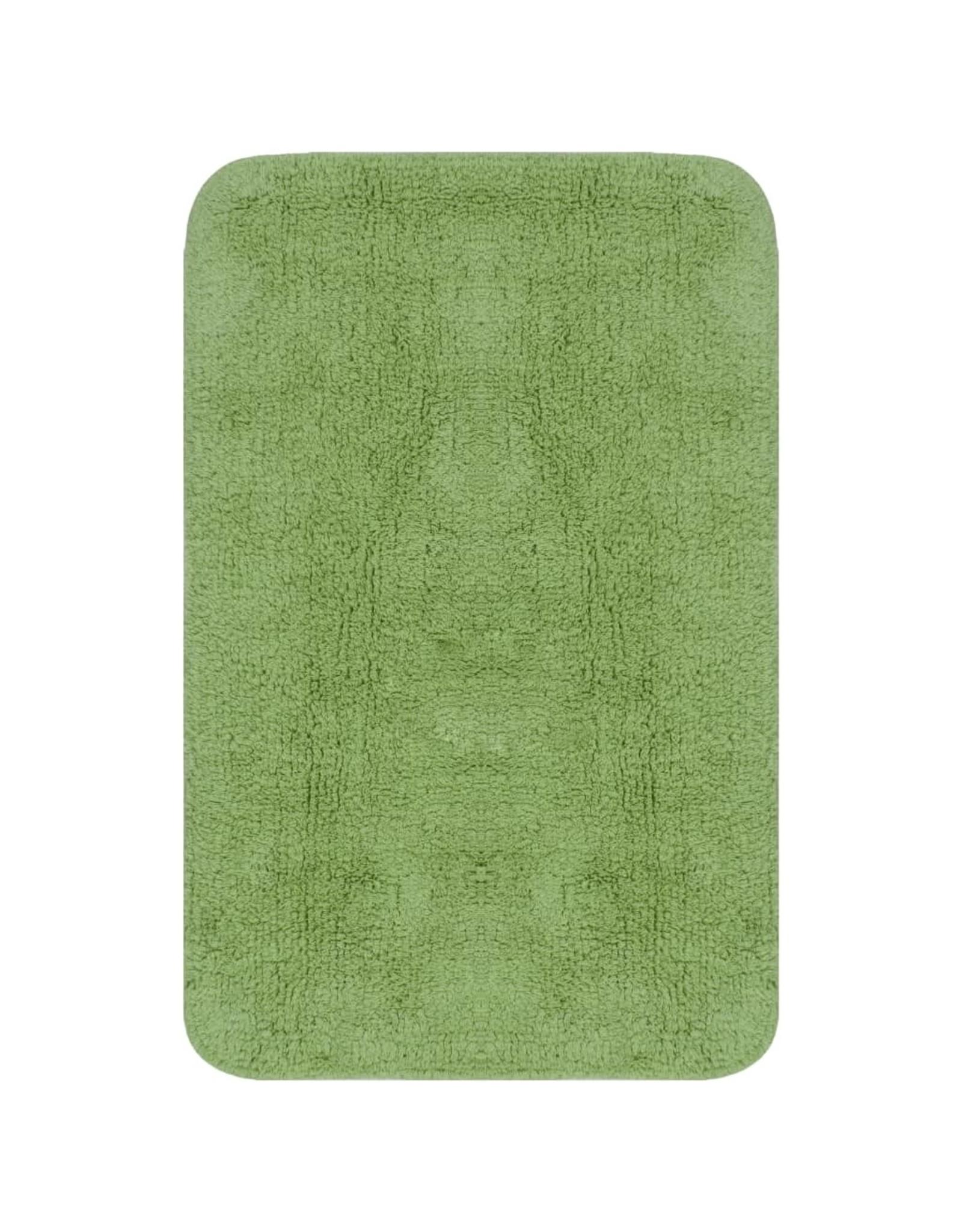Badmattenset stof groen 3-delig