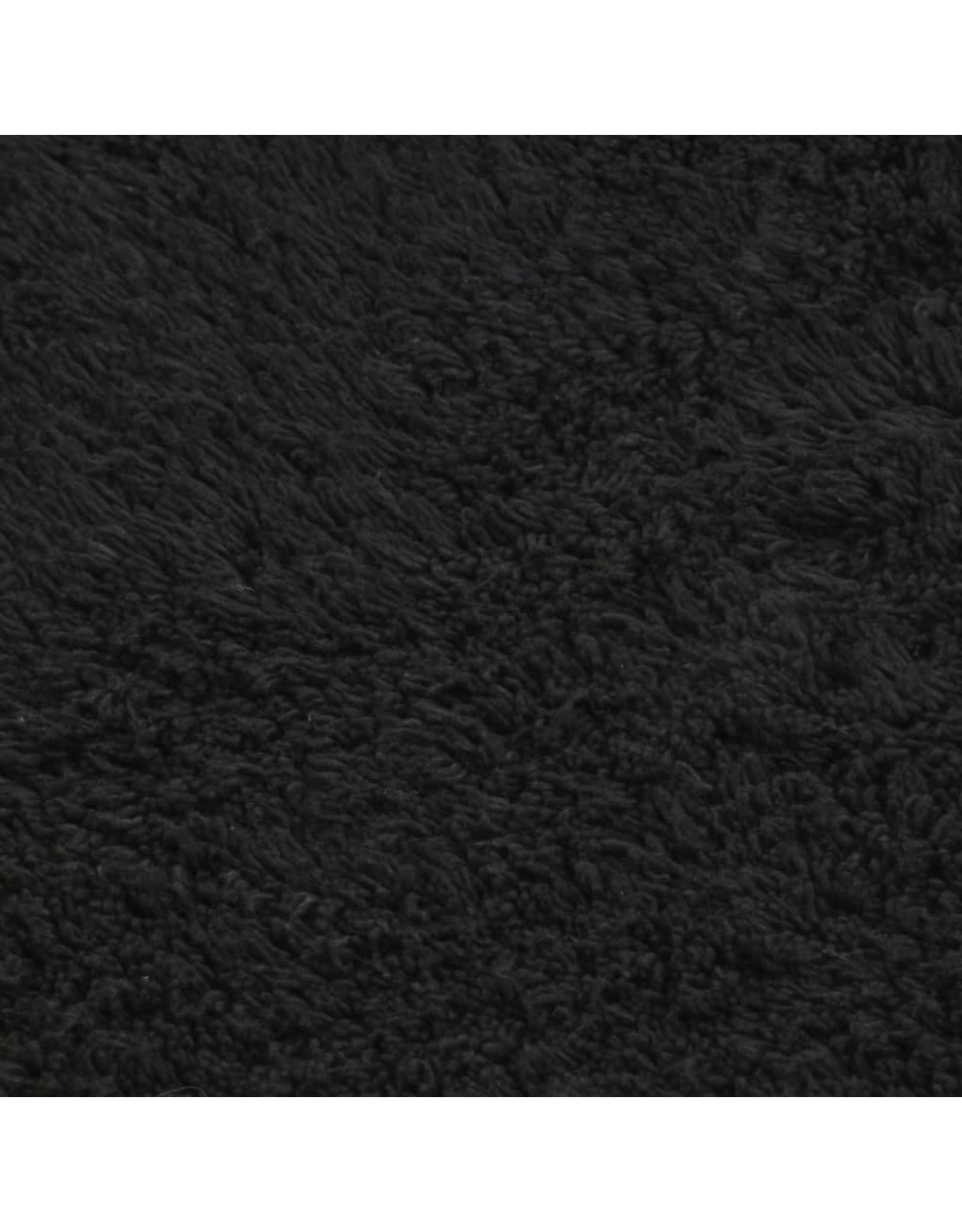 Badmattenset stof antraciet 3 st