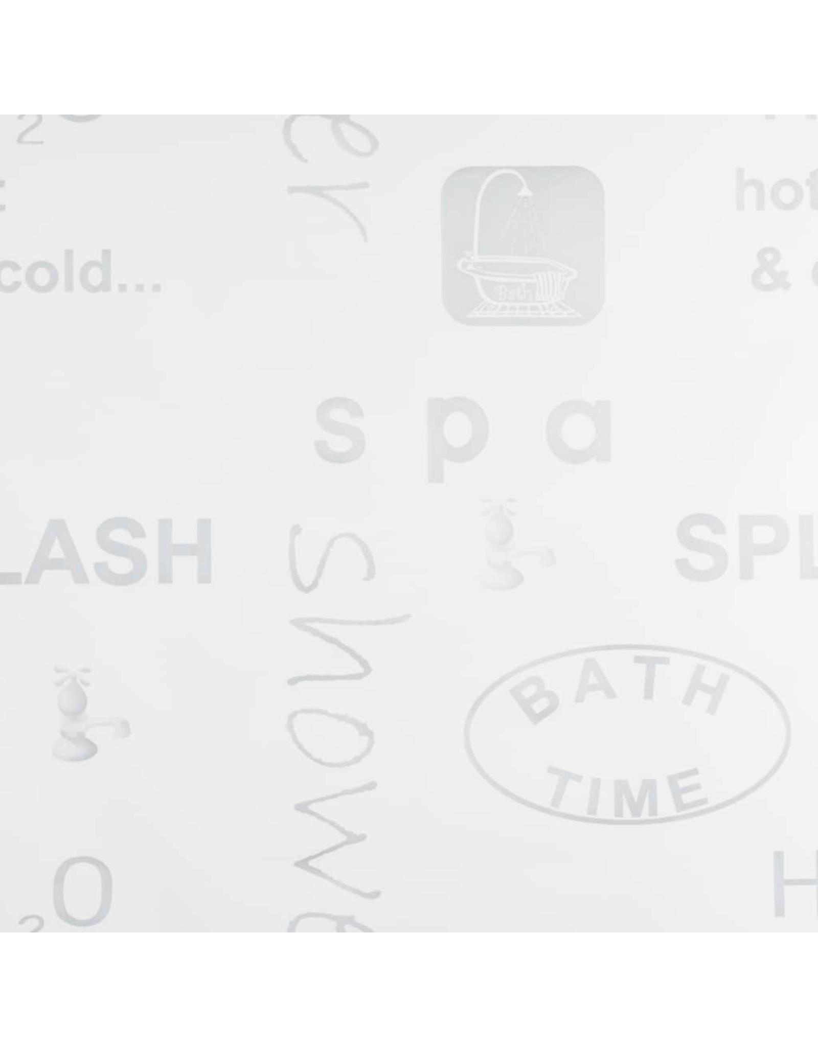 Rolgordijn voor douche 100x240 cm splash