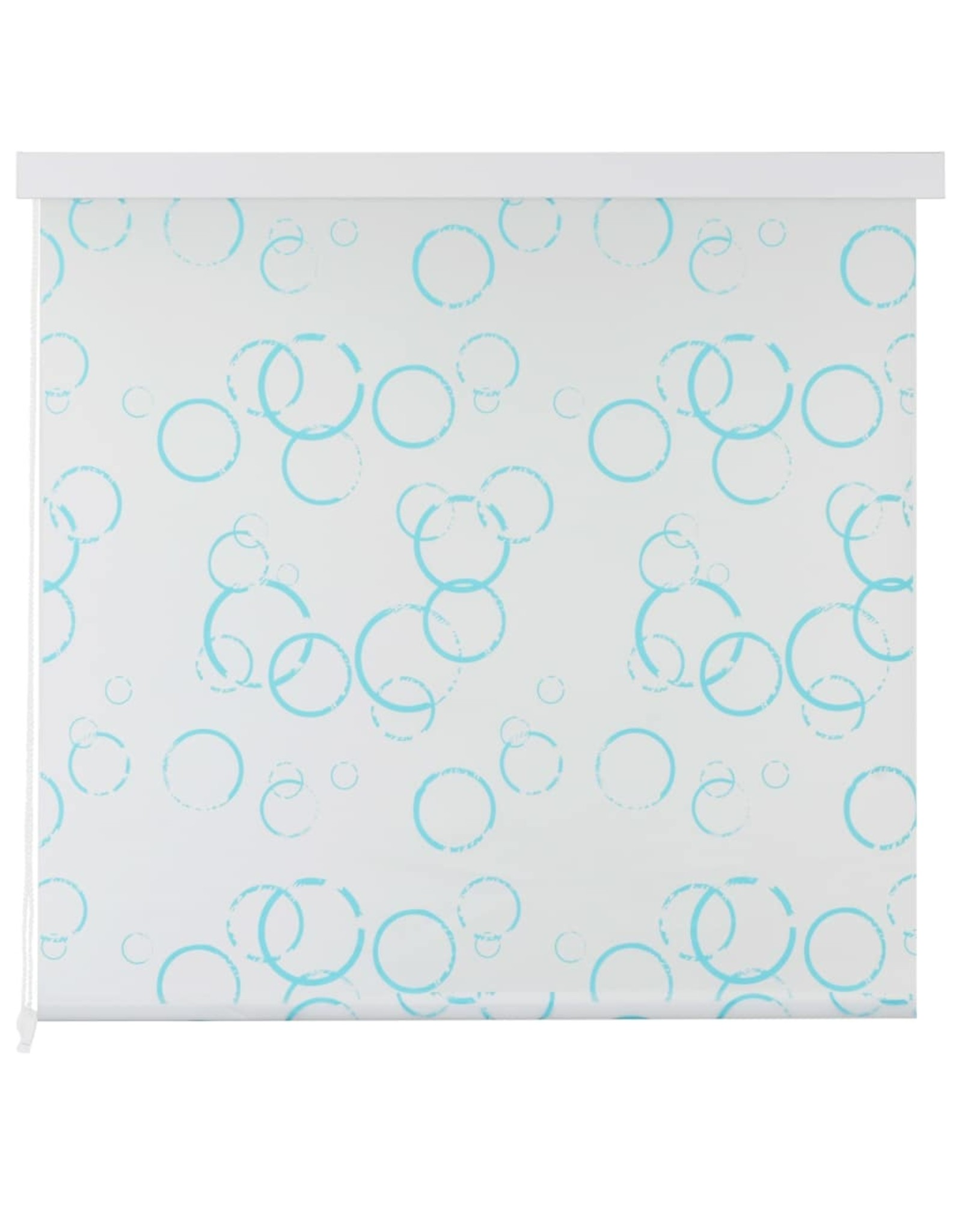 Rolgordijn voor douche 140x240 cm bubbel