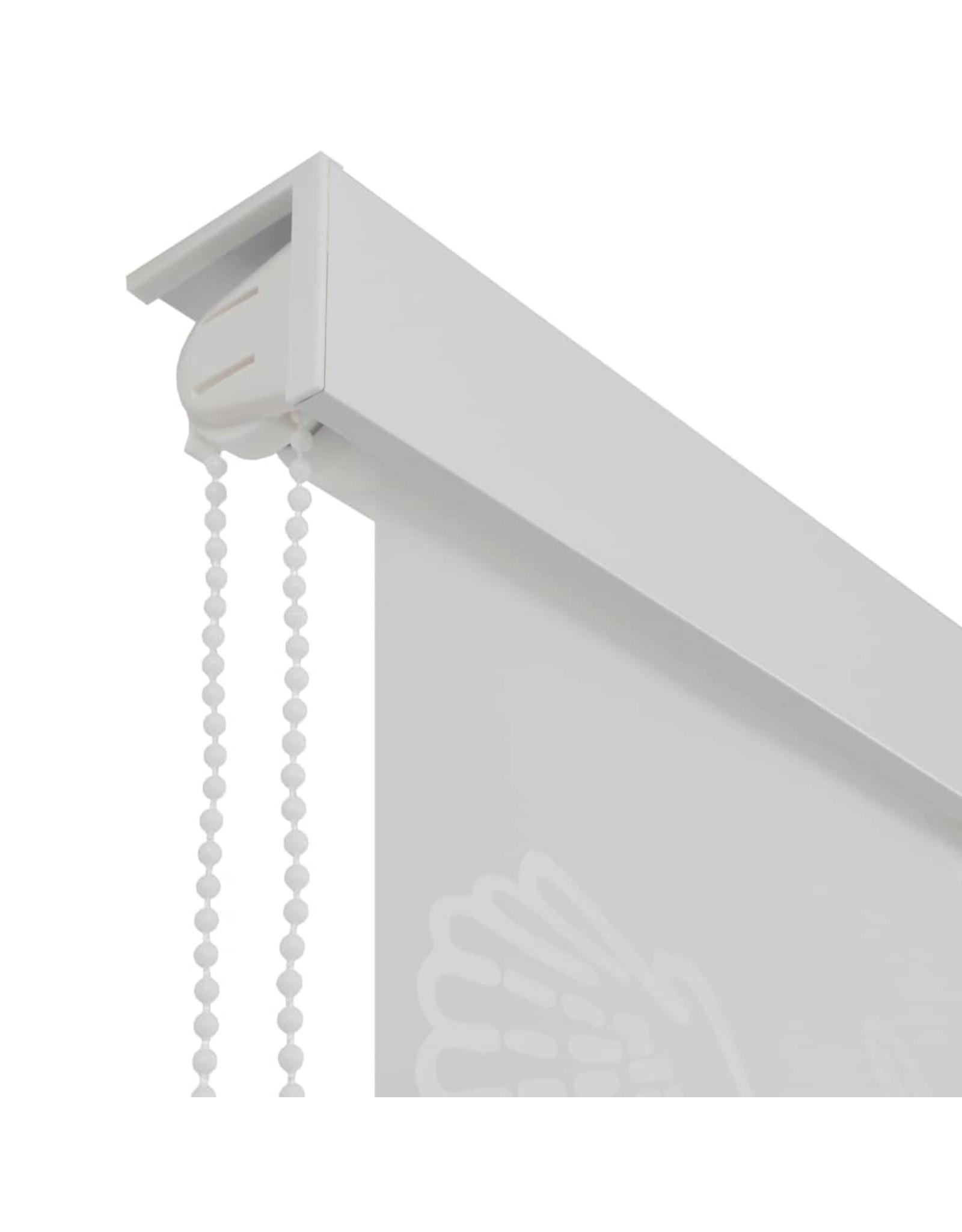 Rolgordijn voor douche 80x240 cm zeester