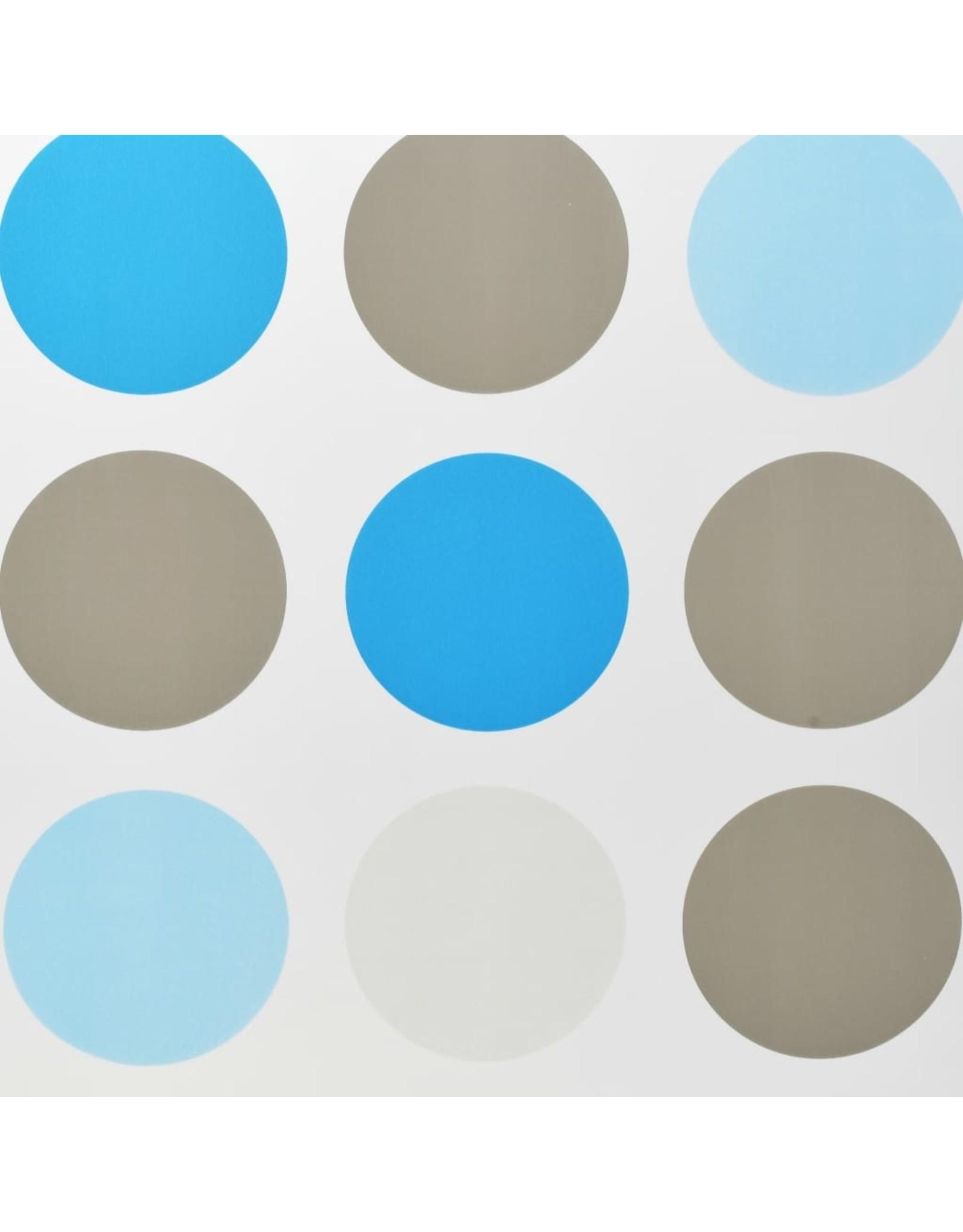 Rolgordijn voor douche 140x240 cm cirkel