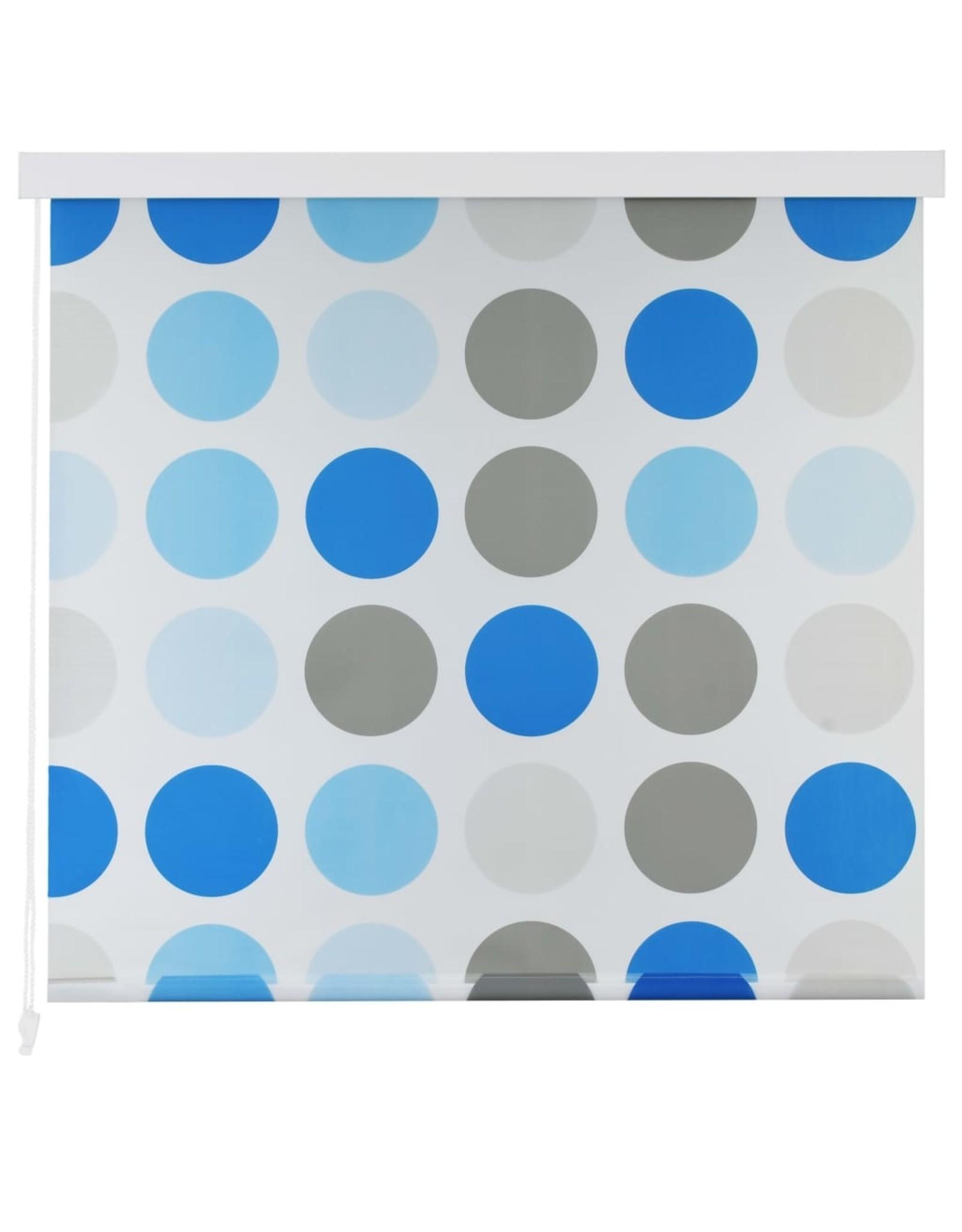 Rolgordijn voor douche 120x240 cm cirkel