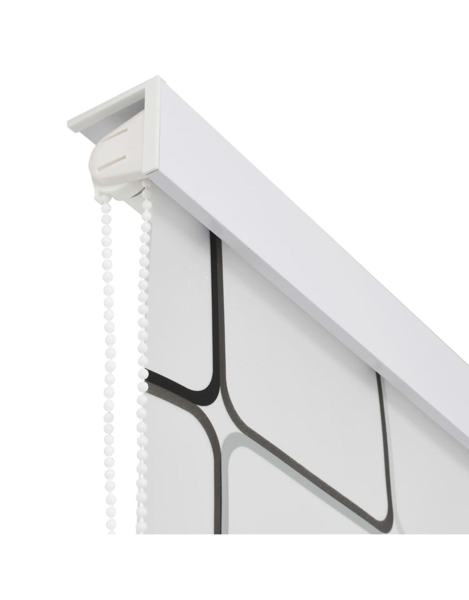 Rolgordijn voor douche 100x240 cm vierkant