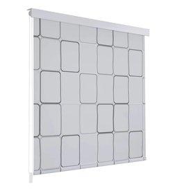 Rolgordijn voor douche 80x240 cm vierkant