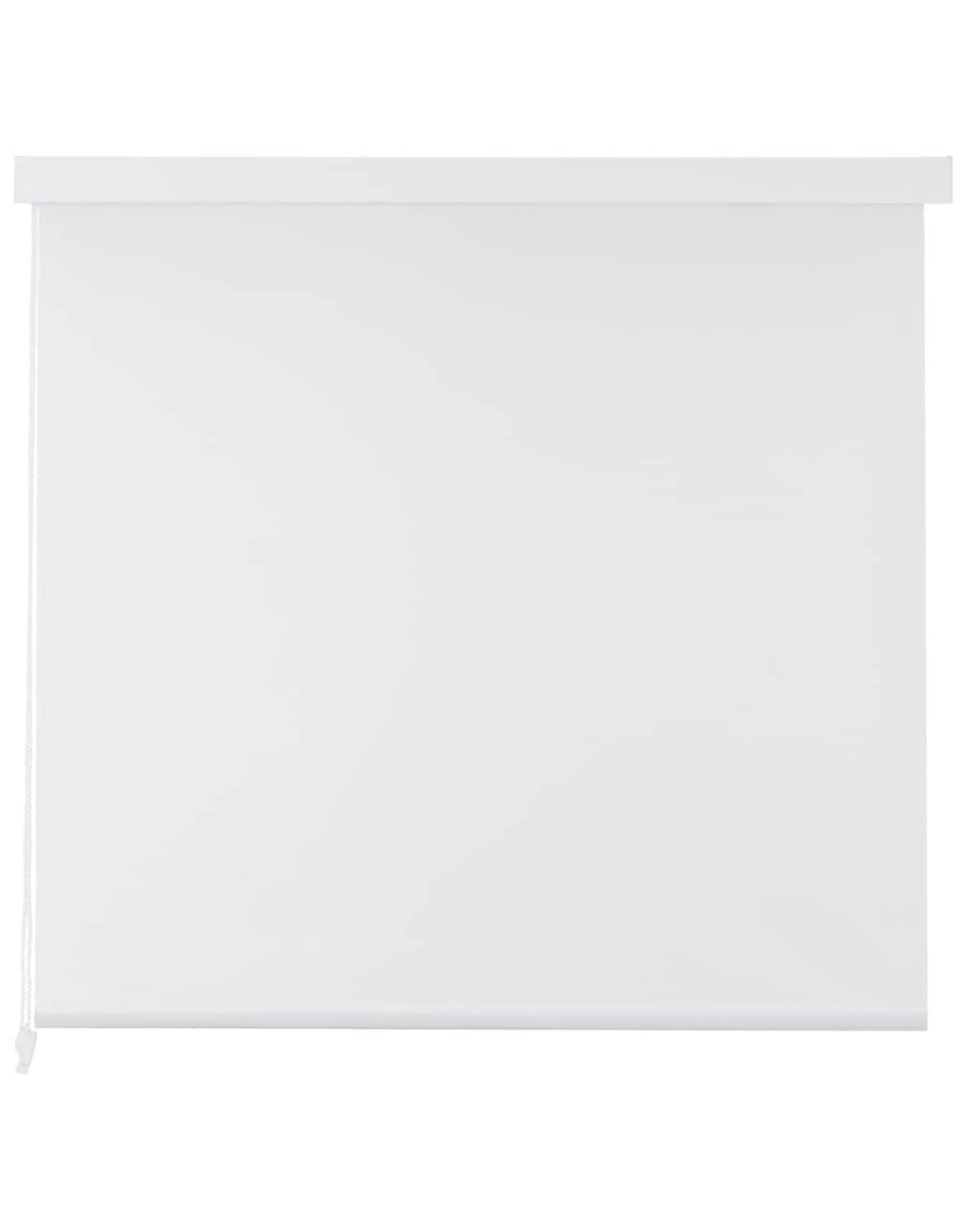 Rolgordijn voor douche 120x240 cm wit