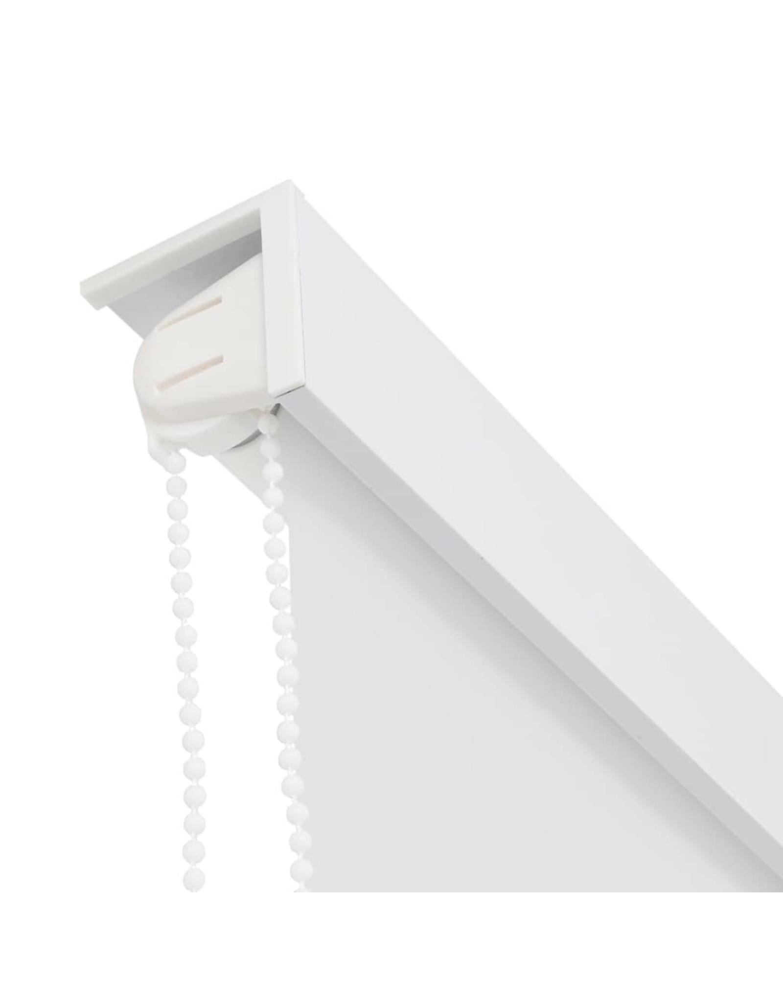 Rolgordijn voor douche 100x240 cm wit