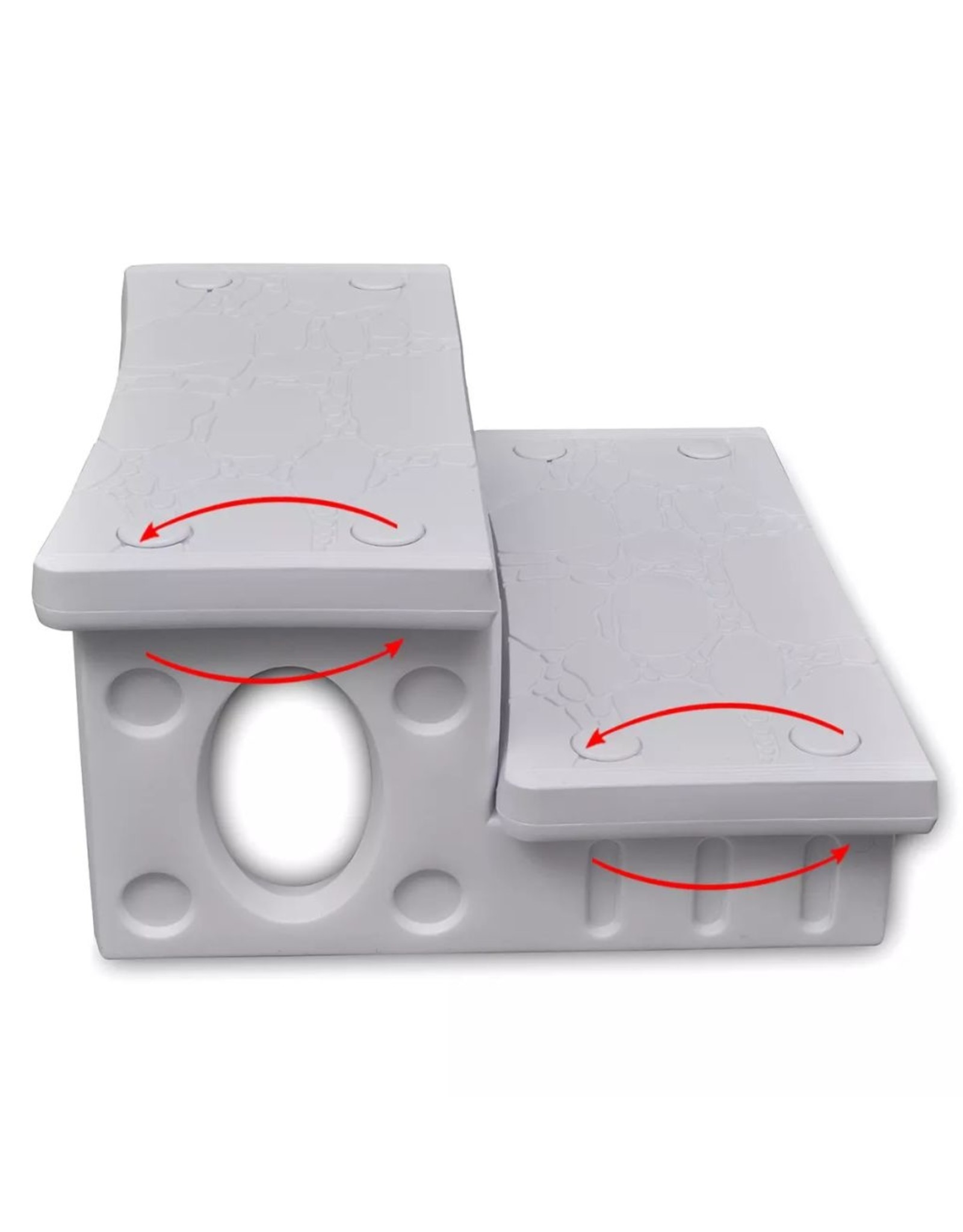 Spa trap (wit)