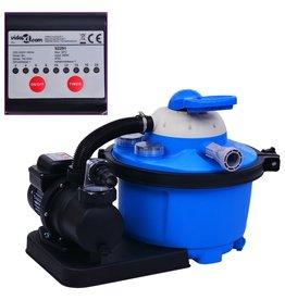 Zandfilterpomp met timer 450 W 25 L