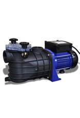 Elektrische zwembadpomp 500W blauw