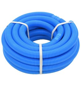 Zwembadslang 32 mm 12,1 m blauw