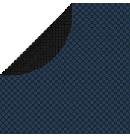 Zwembadfolie solar drijvend 250 cm PE zwart en blauw