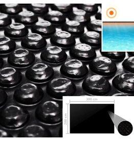 Zwembadhoes 300x200 cm PE zwart