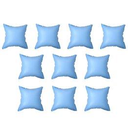Winterluchtkussen voor zwembadhoes 10 st opblaasbaar PVC
