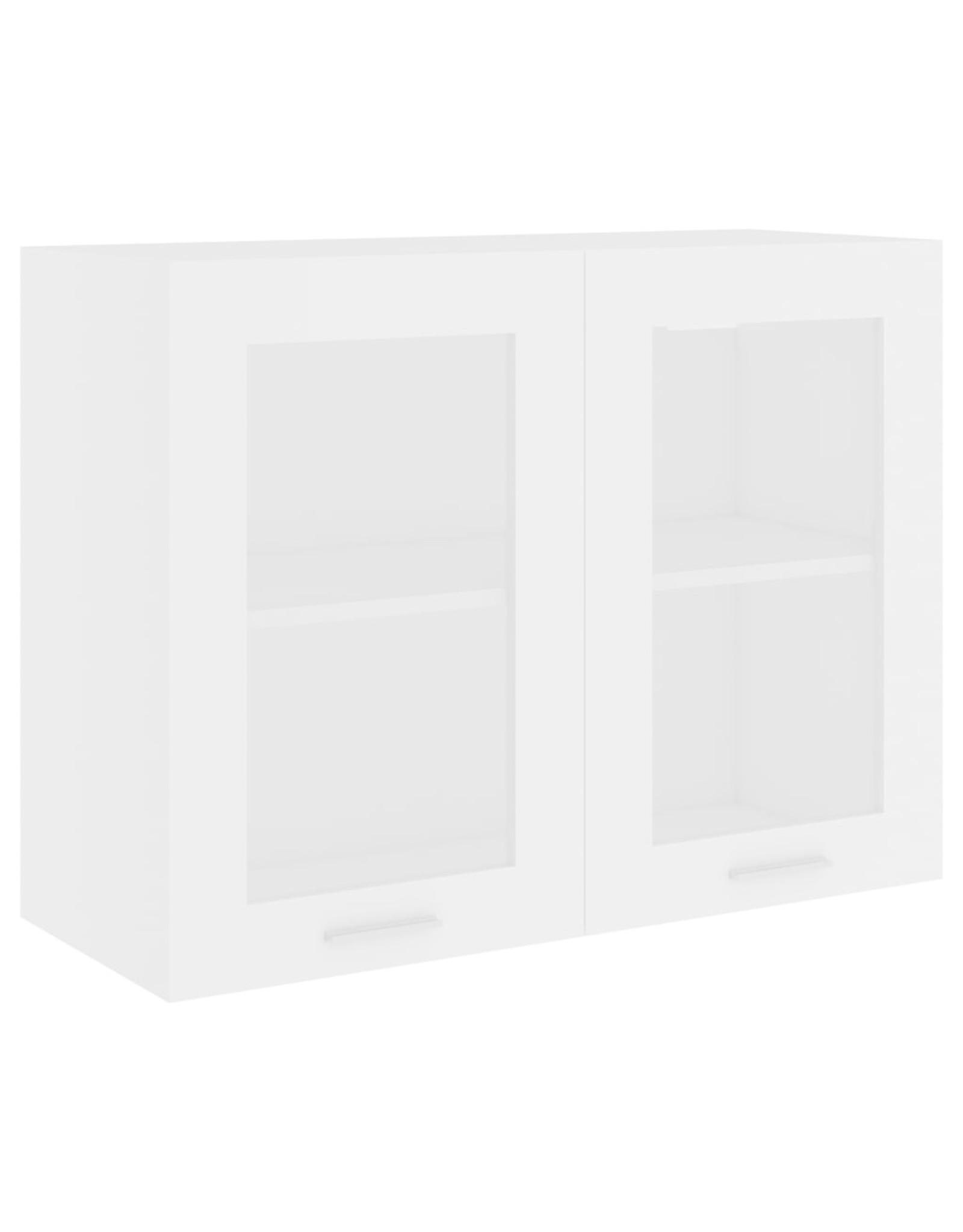 Hangkast 80x31x60 cm spaanplaat wit