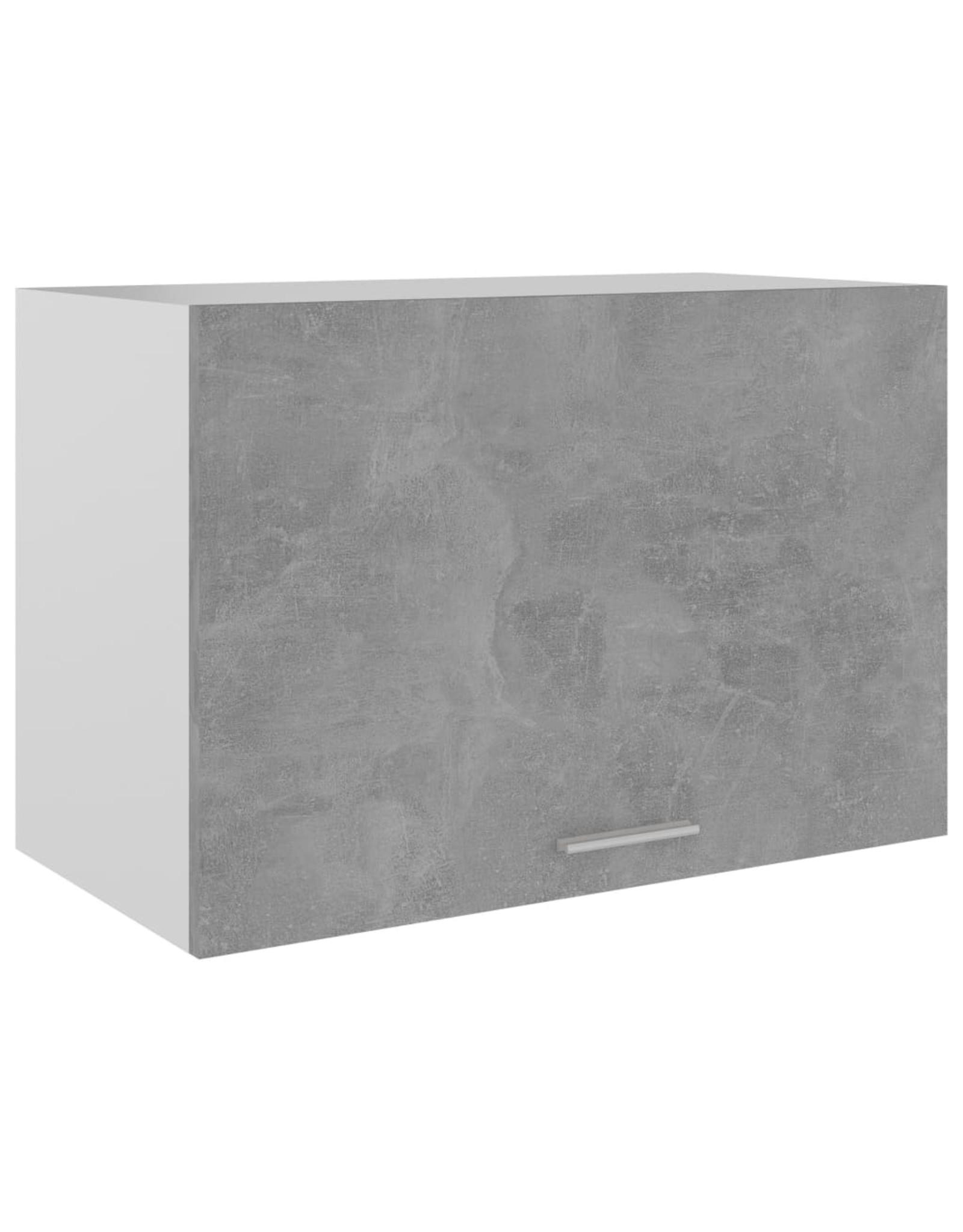 Hangkast 60x31x40 cm spaanplaat betongrijs