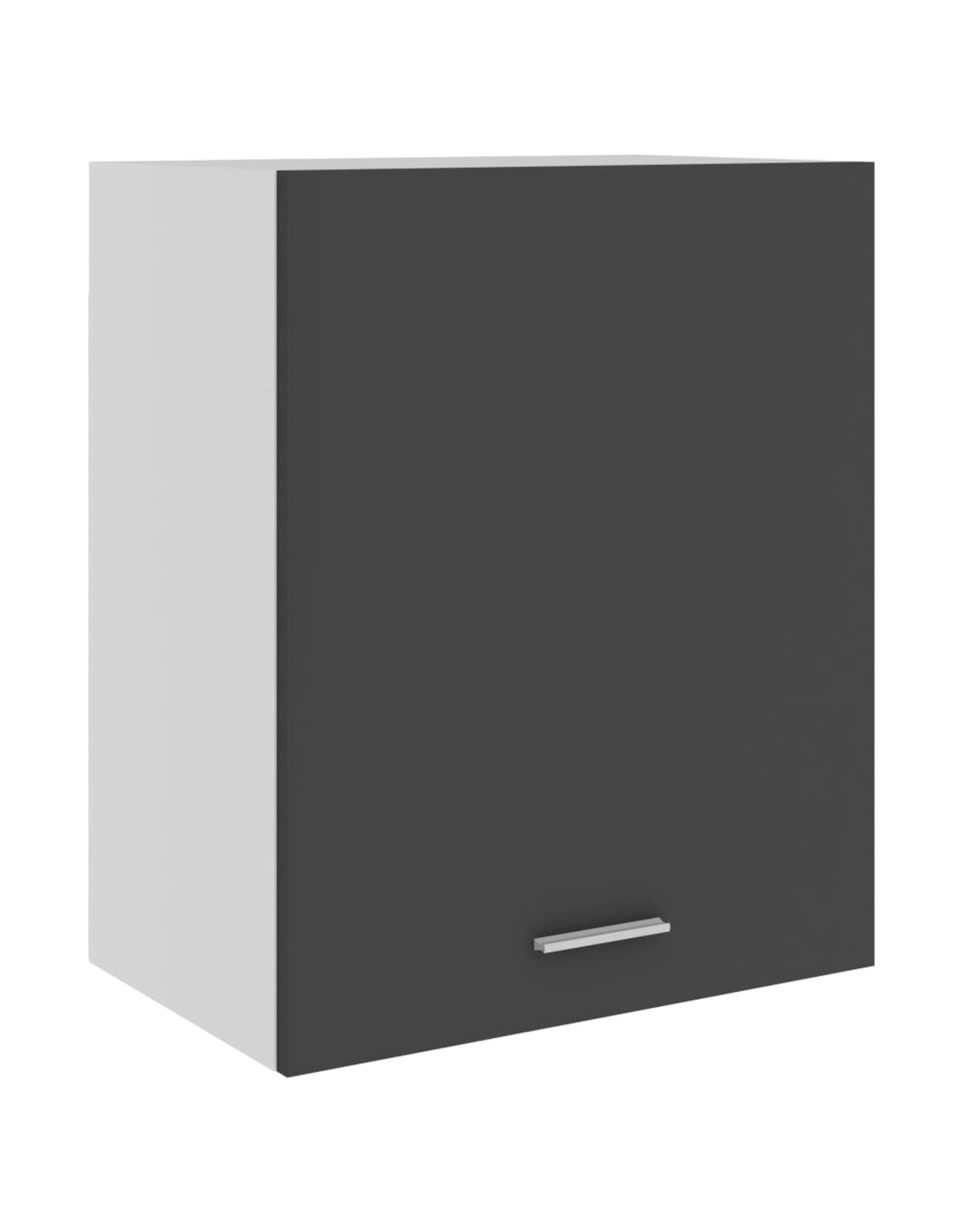 Hangkast 50x31x60 cm spaanplaat grijs