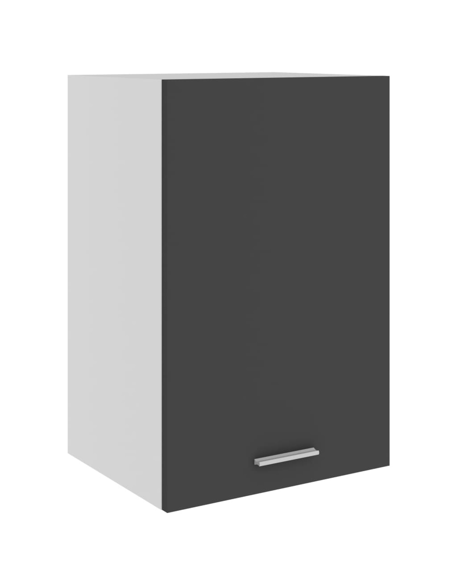 Hangkast 39,5x31x60 cm spaanplaat grijs