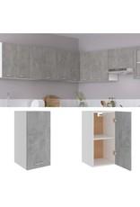 Hangkast 29,5x31x60 cm spaanplaat betongrijs