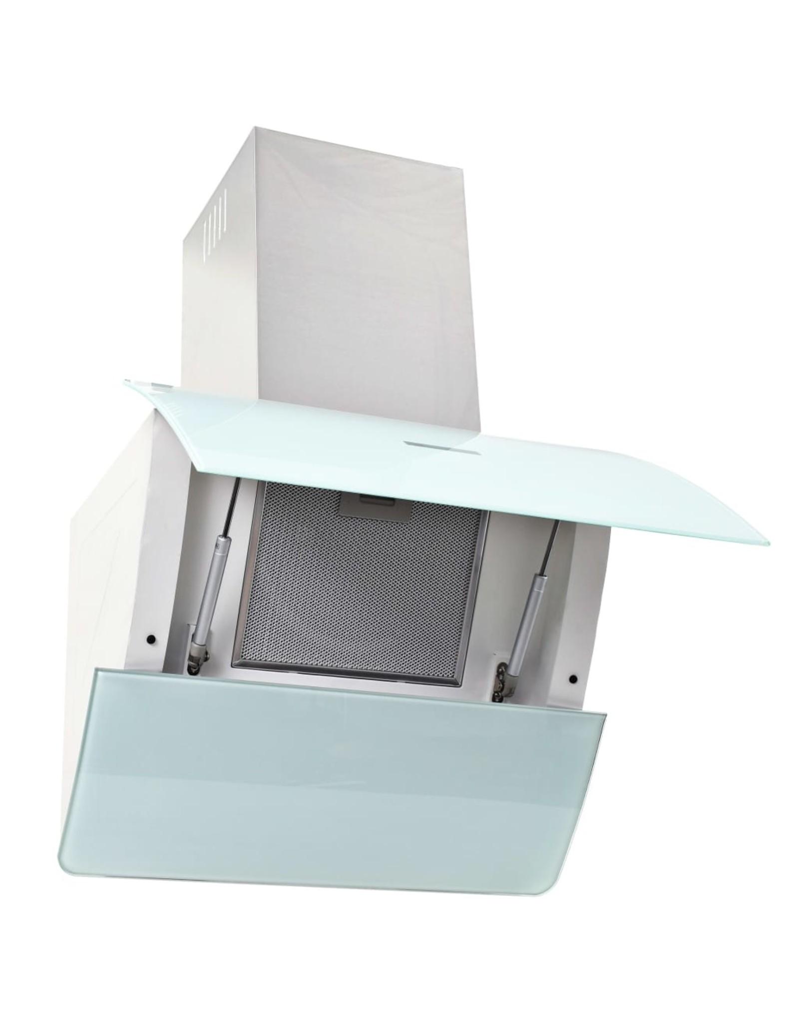 Keukenkastenset met afzuigkap 5-delig hoogglans wit