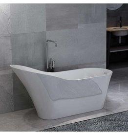 Badkuip vrijstaand 210 L acryl wit