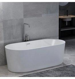 Badkuip vrijstaand 204 L acryl wit