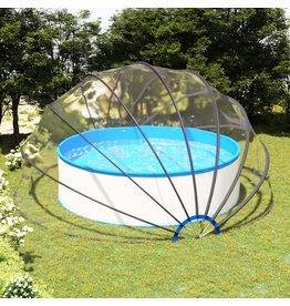 Zwembadkoepel 500x250 cm