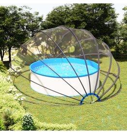 Zwembadkoepel 550x275 cm