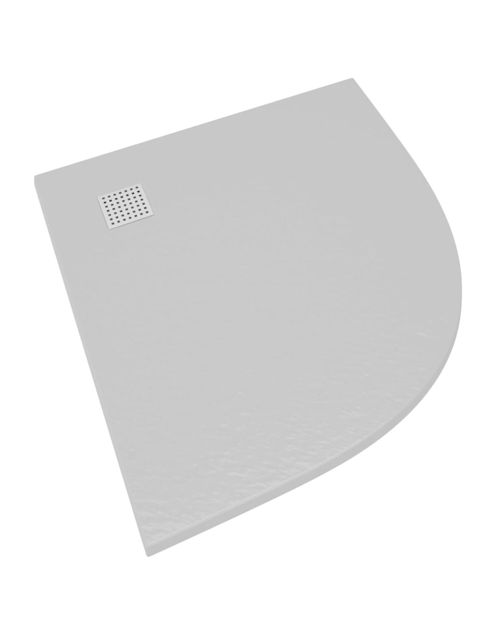 Douchebak 90x90 cm SMC grijs