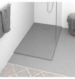 Douchebak 120x70 cm SMC grijs