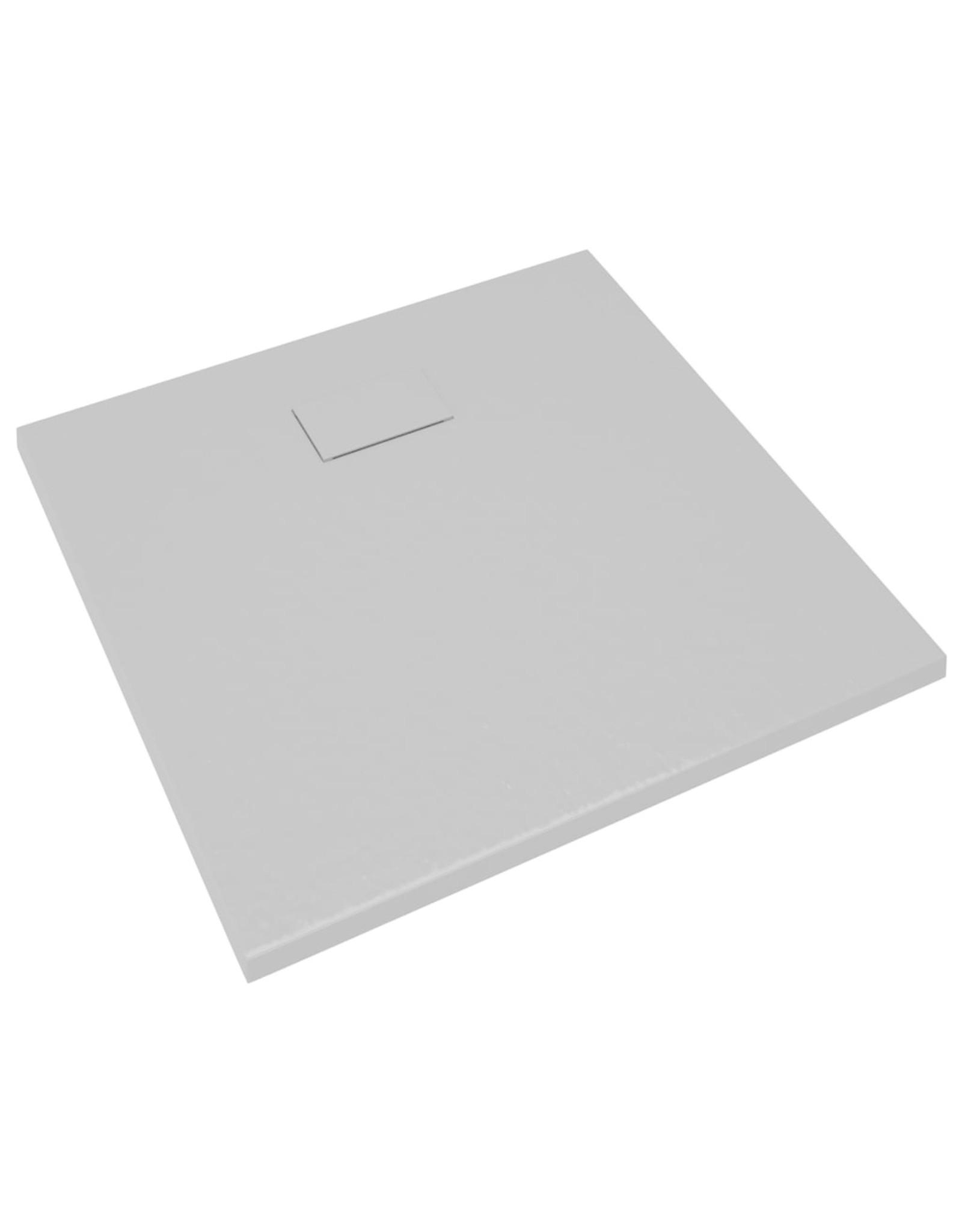 Douchebak 90x80 cm SMC grijs