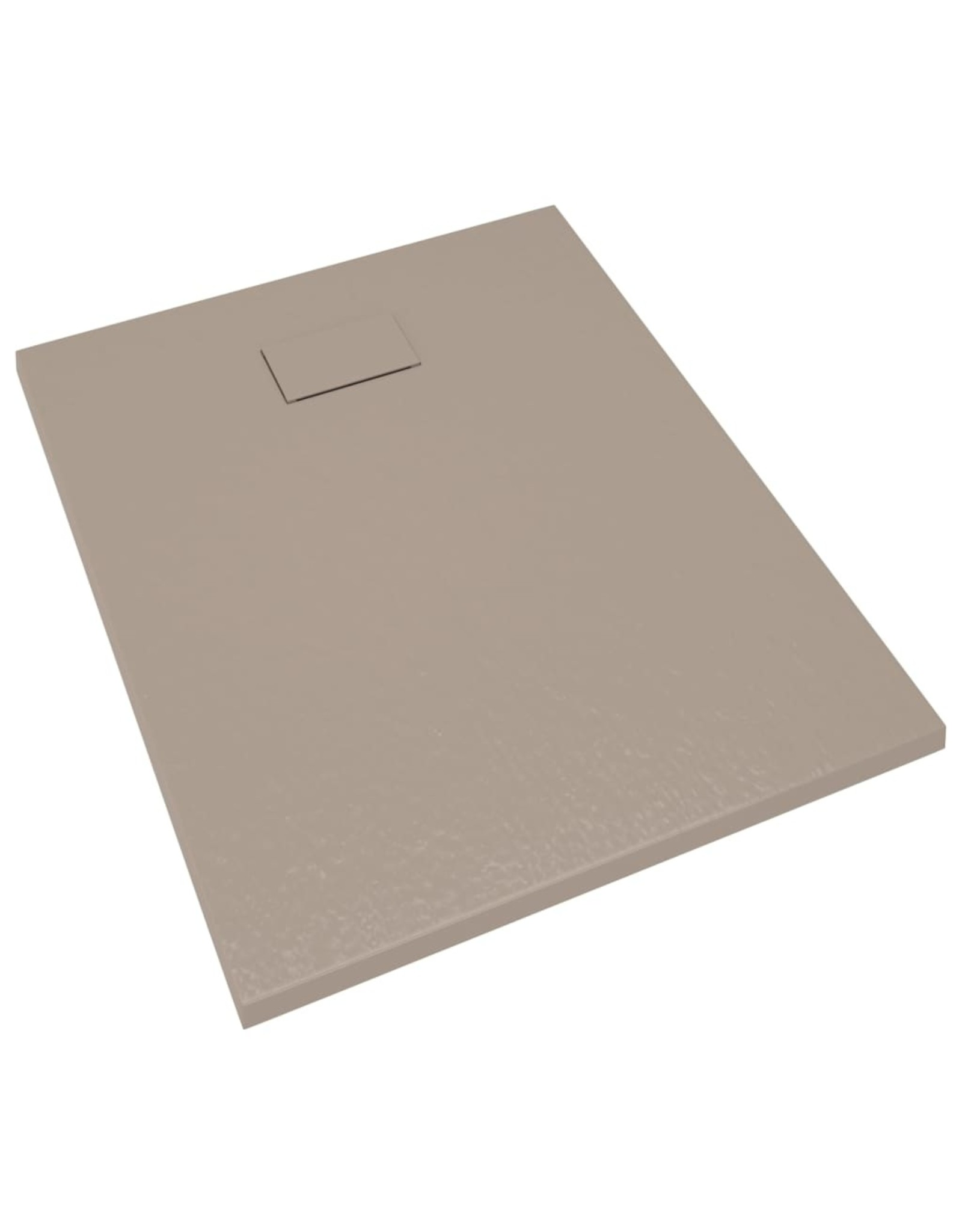 Douchebak 100x80 cm SMC bruin