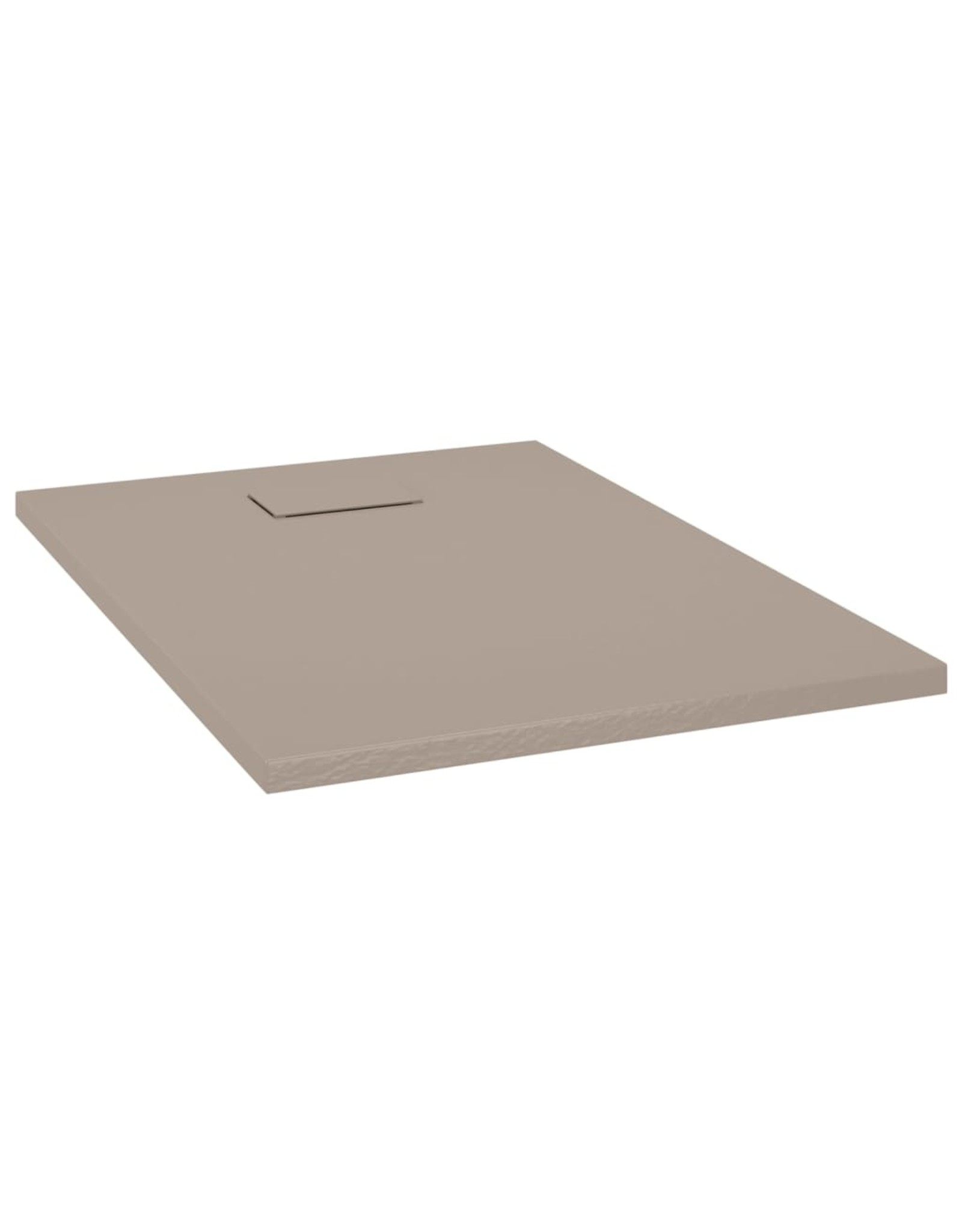 Douchebak 100x70 cm SMC bruin