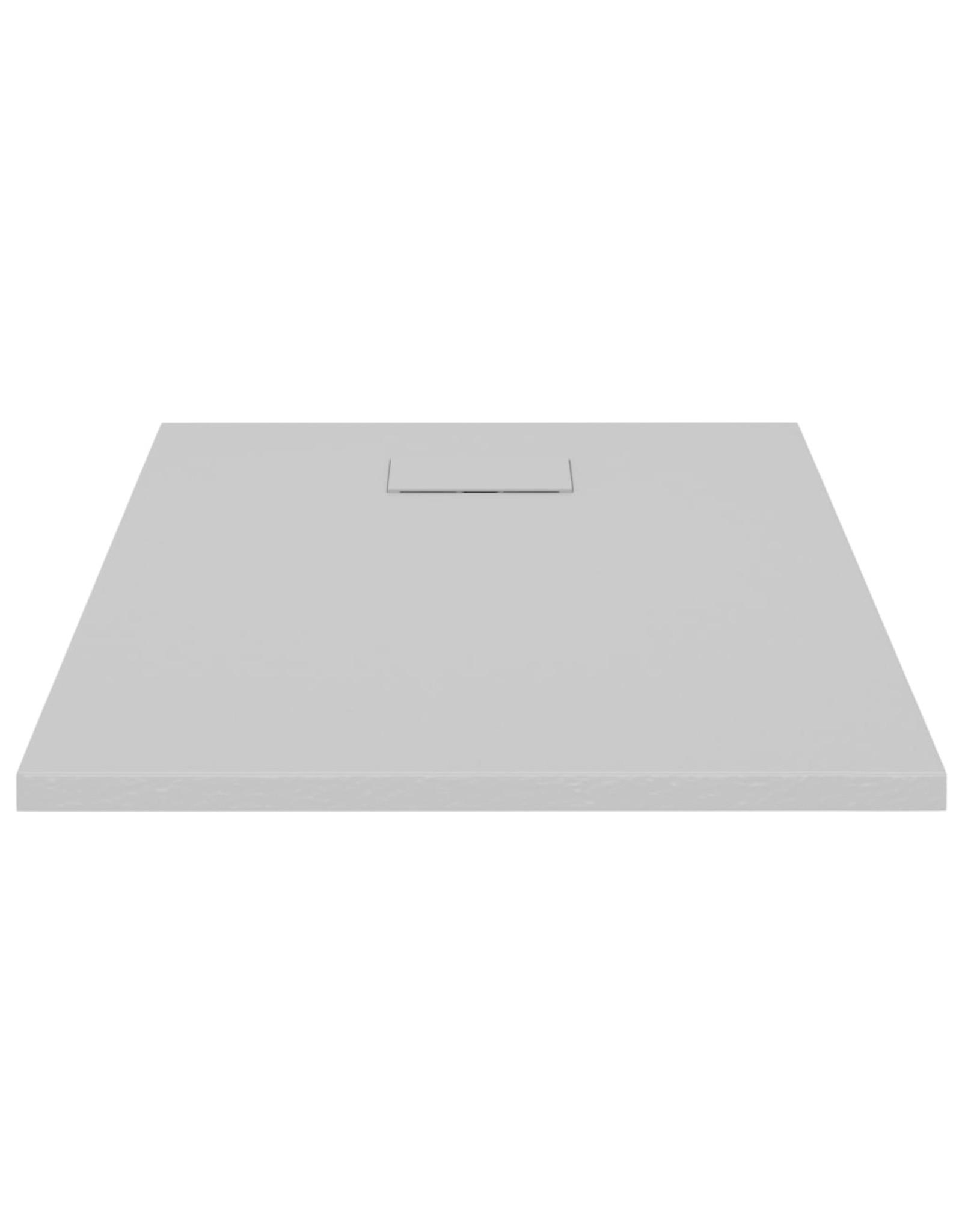 Douchebak 90x70 cm SMC grijs