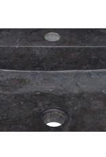 Gootsteen 40x40x12 cm marmer zwart