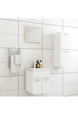 Badkamermeubelset spaanplaat hoogglans wit