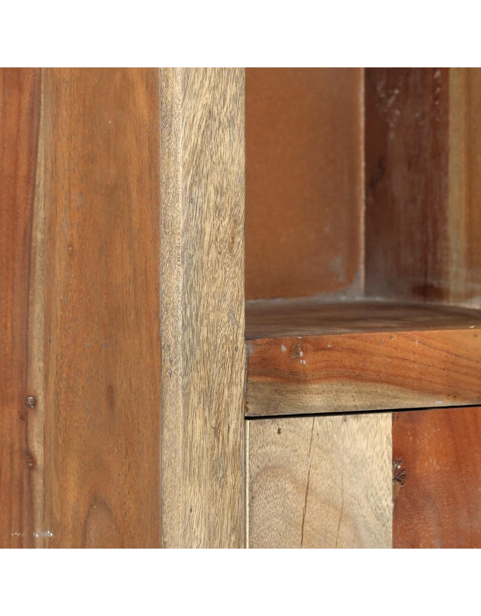 5-delige Badkamerset massief acaciahout