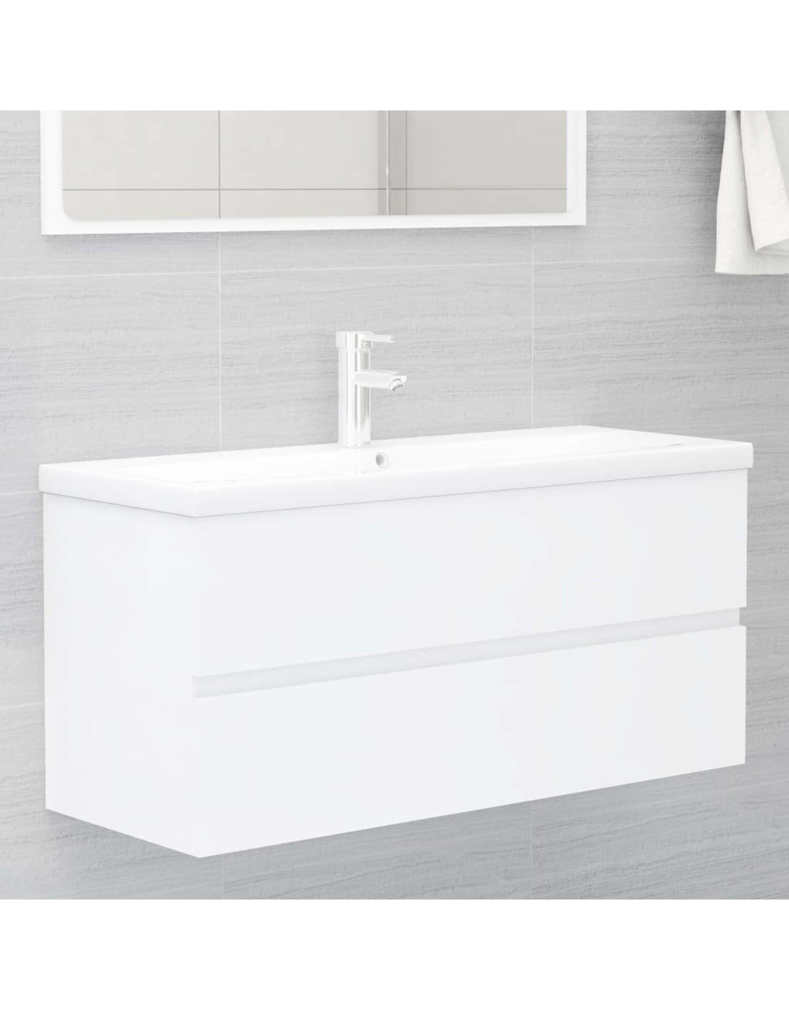 Badkamermeubelset spaanplaat wit