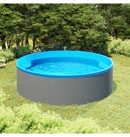 Splasher pool 350x90 cm grijs