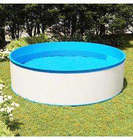 Splasher pool 350x90 cm wit