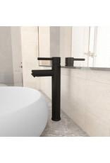 Badkamermengkraan 12x30 cm zwart