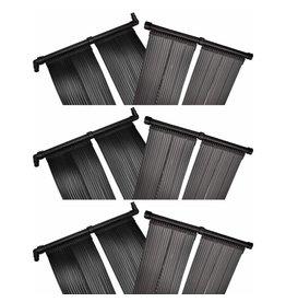 Solarverwarmingspanelen voor zwembad 6 st 80x620 cm