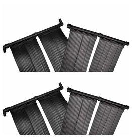 Solarverwarmingspanelen voor zwembad 4 st 80x620 cm